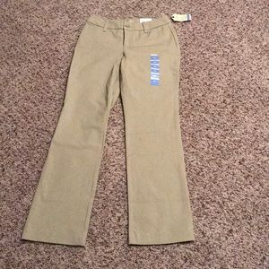 Khaki pants from St John's Bay